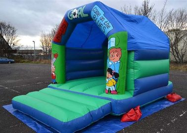 12x15 Football Kids Inflatable Bouncer Castle Used In Family Party