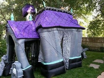 Halloween Inflatable Haunted House Halloween Party Decoration Advertising Inflatables