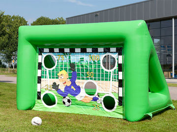 Outdoor Inflatable Sports Games Portable Kids Inflatable Football Soccer Goal