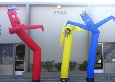Single Leg Or Two Legs Inflatable Air Dancer , Mini Inflatable Air Tube Man For Advertising