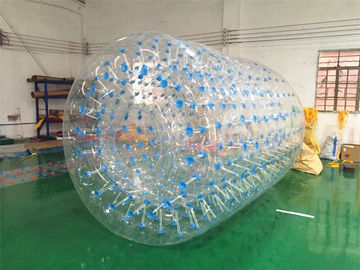 PVC Tarpaulin Inflatable Water Toys , Orb Water Roller Ball 2.4 * 2.2 * 1.8M