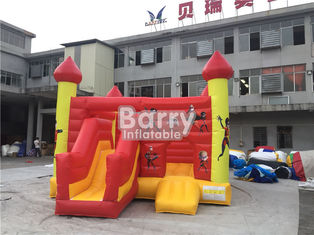 Commercial Inflatable Bouncy Slide , Blow Up Combo Jumping Castle For Kids Play