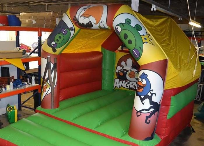 s Commercial Small Blow Up Bounce Houses For Baby / Children