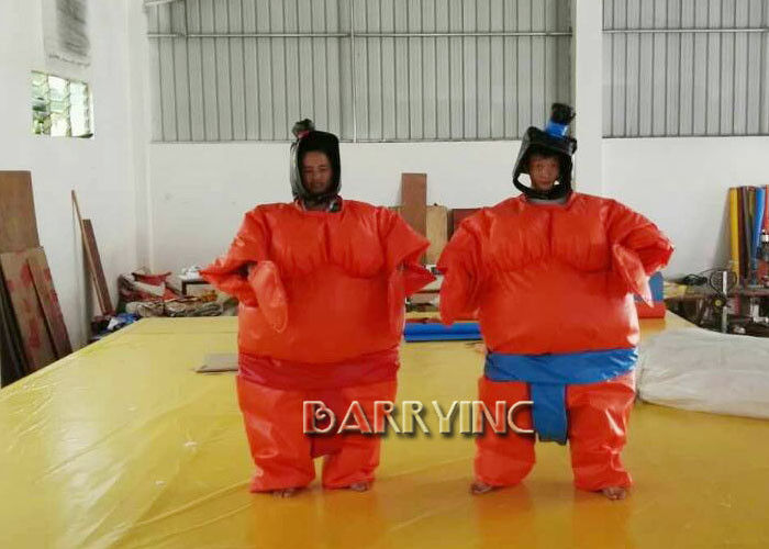 Party Wrestling Fancy Dress Adult Inflatable Model Sumo Costume Suits With Battery